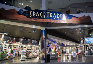 Space trader Gift Shop at SPACE CENTER HOUSTON