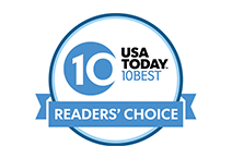 USA today best 10 awards logo