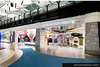Duty free Store in Vancouver